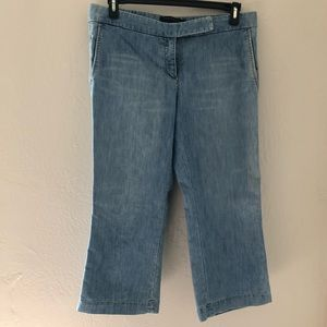 Express Editor Mid Length Stretch Jeans Size 12